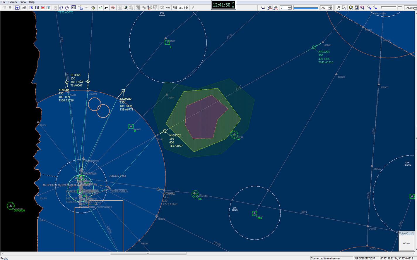Radarweather on Engine Control Module