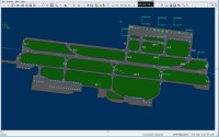 2D view of the airport